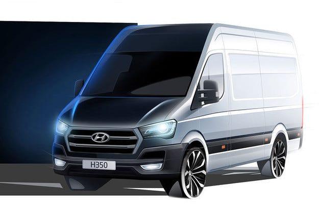 Hyundai H350 дебютира на изложението в Хановер