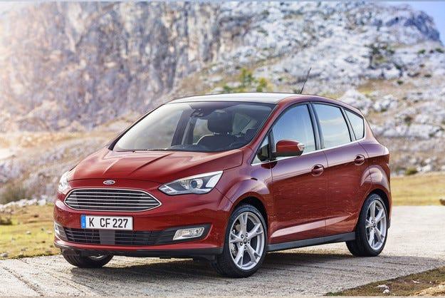 Ford разкри напълно обновения C-MAX