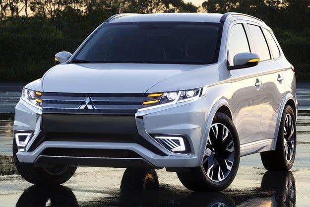 Mitsubishi представи Outlander PHEV Concept-S