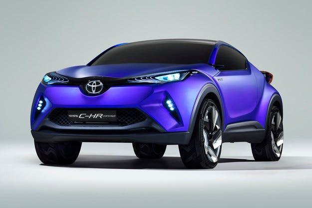 Toyota представи концепт на нов кросоувър