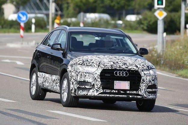 Audi Q3: Първият фейслиф е през 2015