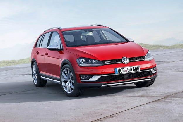 Volkswagen разкри високопроходима версия на Golf