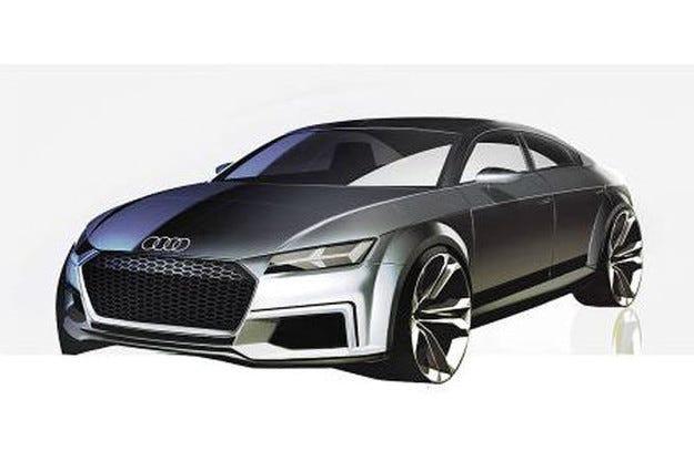 Audi TT Sportback: Купе с четири врати в Париж