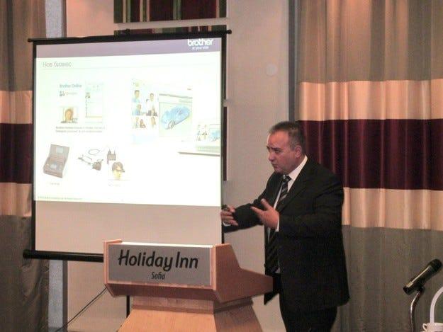 Brother България демонстрира ново печатащо устройство
