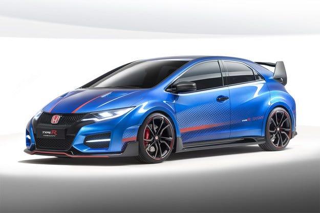 Honda представя прототип на обновен Civic Type R