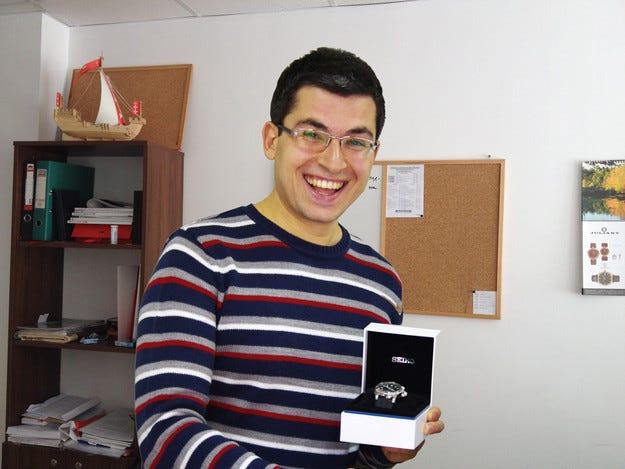 Победителят в играта на ams.bg получи голямата награда