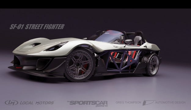 Local Motors избра дизайна за първия си сериен модел
