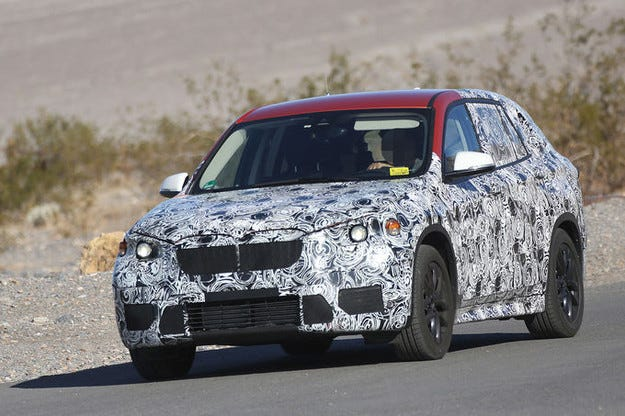 Тестват дълга версия на BMW X1 за Китай