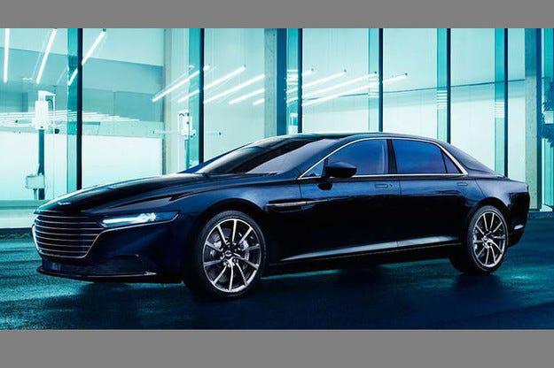 Aston Martin Lagonda: Съвършено луксозна лимузина