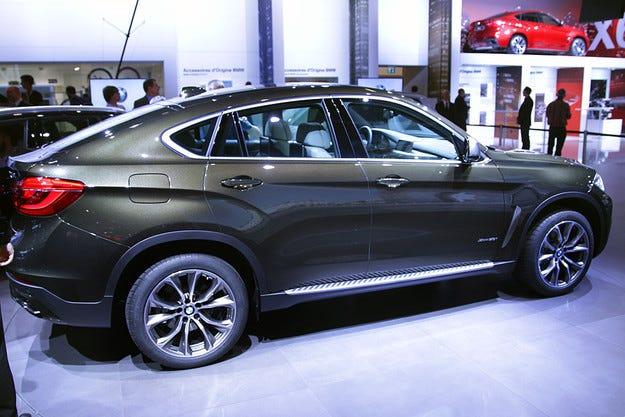 Представиха второто поколение на кросоувъра BMW X6