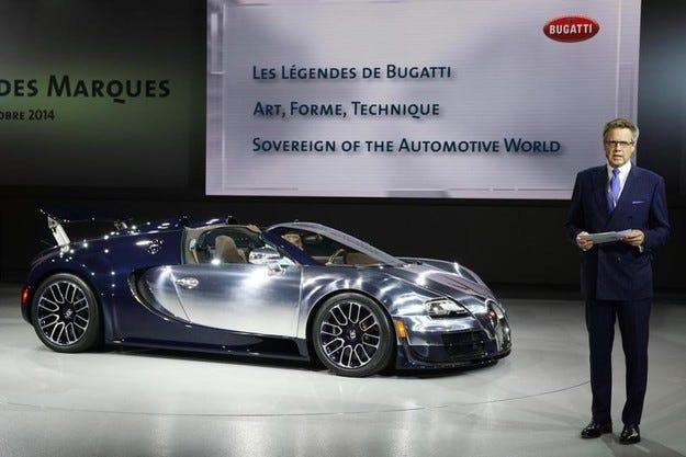 Шефът на Bugatti разкри клиентите на компаниите