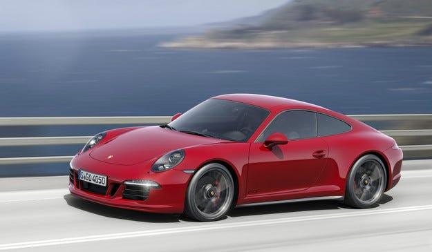 Porsche 911 GTS дебютира в Лос Анджелис