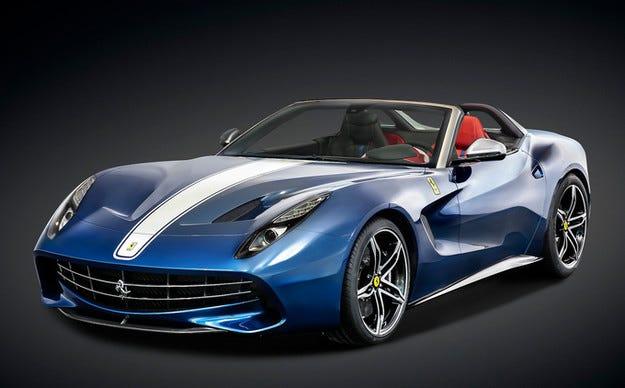 Представиха юбилейния Ferrari F60 America
