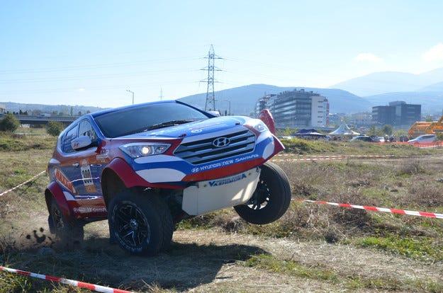 Над 500 теста със SUV автомобилите на Hyundai