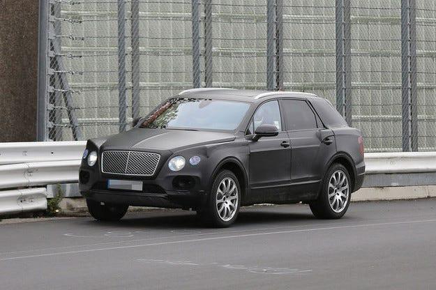 Bentley SUV 2016: На ход е новият луксозен лайнер