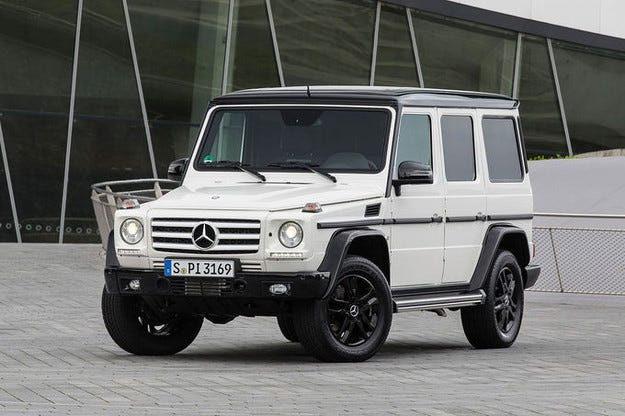 Mercedes G-класа Edition 35
