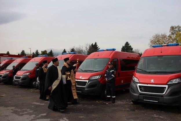"""DANGEL BOXER 4x4 за """"Пожарна безопасност и защита на населението"""" – МВР"""