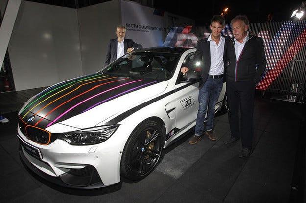 BMW M4 DTM Champion Edition за Марко Витман