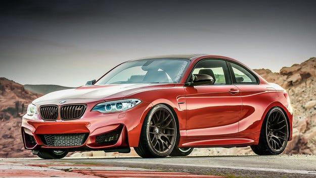 BMW M2 ще има нов двигател с 400 конски сили