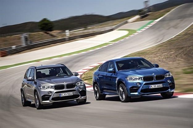 BMW представи новите М-версии на Х5 и Х6