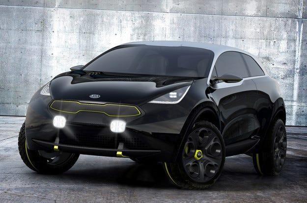 Kia ще представи хибриден кросоувър през 2016 г.