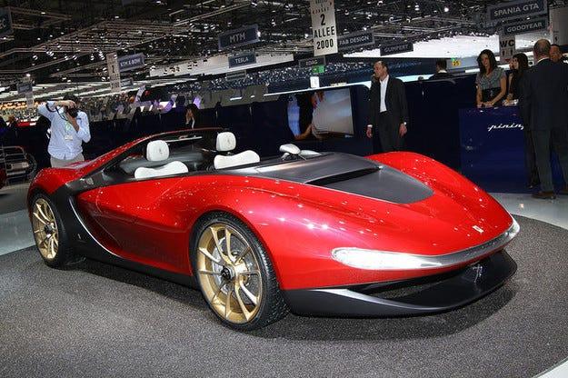 Ограничената серия Pininfarina Sergio Ferrari е продадена