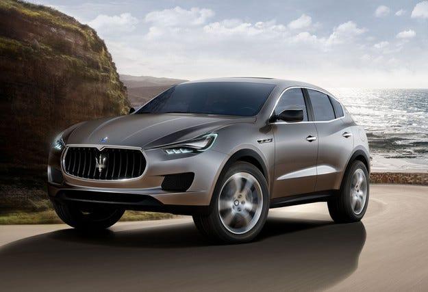 Levante e името на бъдещия всъдеход на Maserati