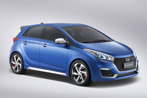 В Сао Пауло показаха Hyundai HB20 R-Spec Concept
