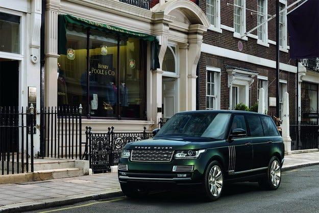 Най-скъпият Range Rover е направен за ловджии