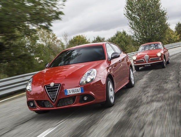 Alfa Romeo Giulietta Sprint: С нов бензинов мотор