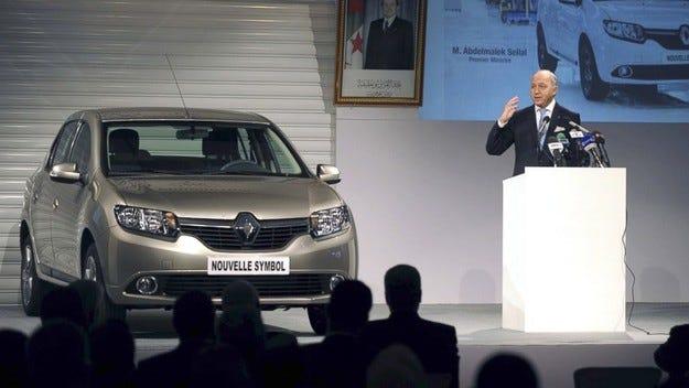 Renault с амбициозни планове за Северна Африка