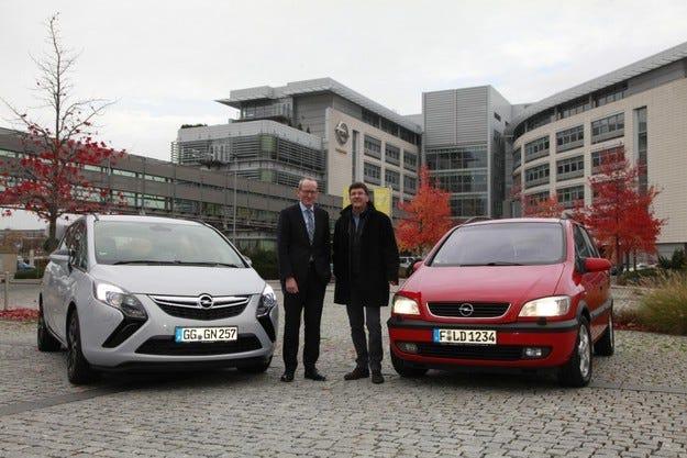 Надеждният Opel: Zafira навъртя 500 000 км