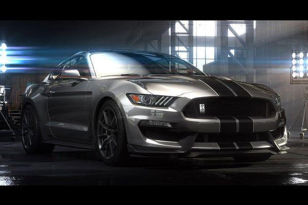 Дебют на Ford Mustang GT 350 в Лос Анжелис