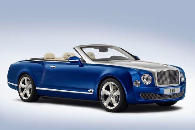 """Новият кабриолет на Bentley с мотор от """"горещия"""" Mulsanne"""