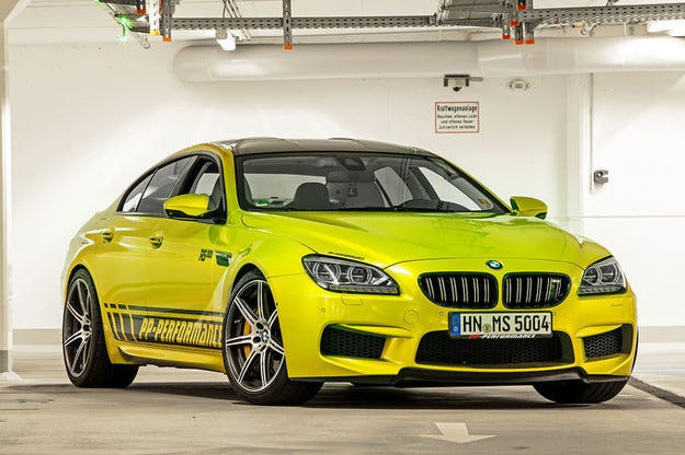 PP Performance BMW M6 RS800 Gran Coupé: Най-бърз