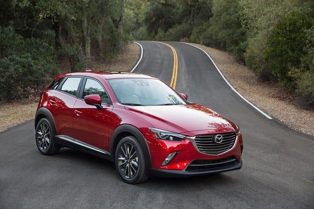 Mazda представи най-малкия кросоувър