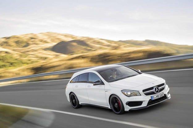 Mercedes-Benz представи най-малкото си комби