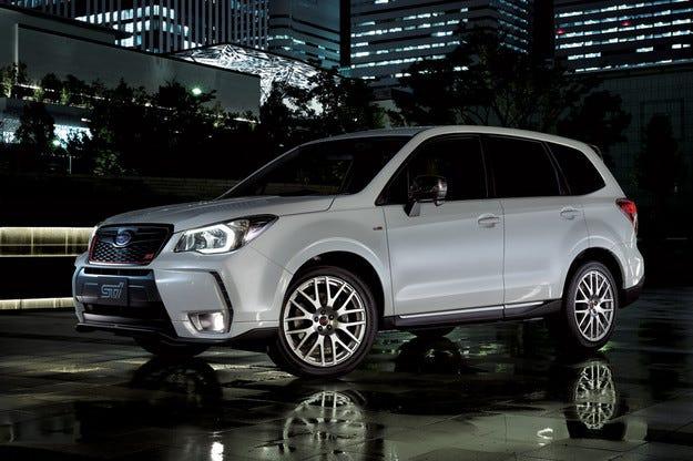"""""""Горещата"""" версия на Subaru Forester с 280 к.с."""