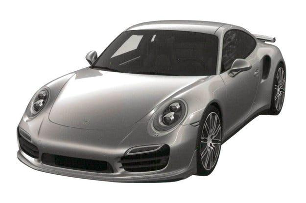 Появиха се първите скици на обновения Porsche 911