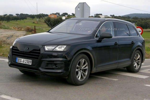 Audi представя новото поколение Q7 през януари