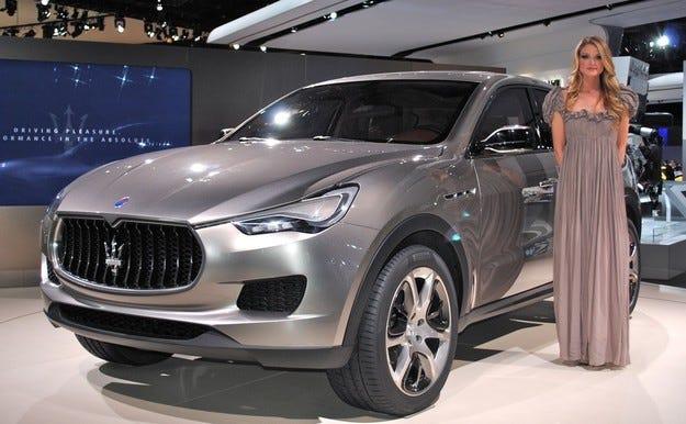 Maserati Levante идва на пазара в края на 2015 г.