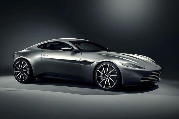 Aston Martin показа новия автомобил на Джеймс Бонд
