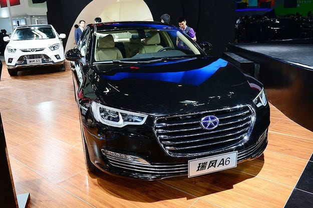 JAC Refine A6 или Audi A6 на китайските имитатори