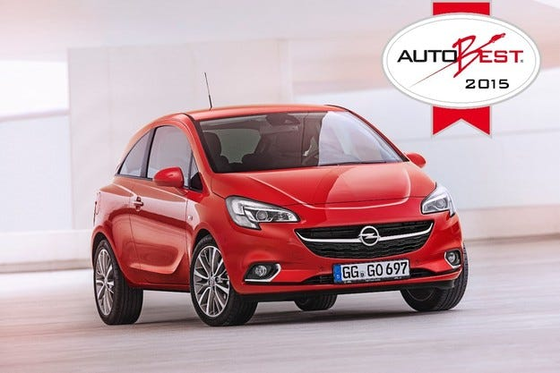 Opel Corsa се окичи с голямата награда AUTOBEST 2015