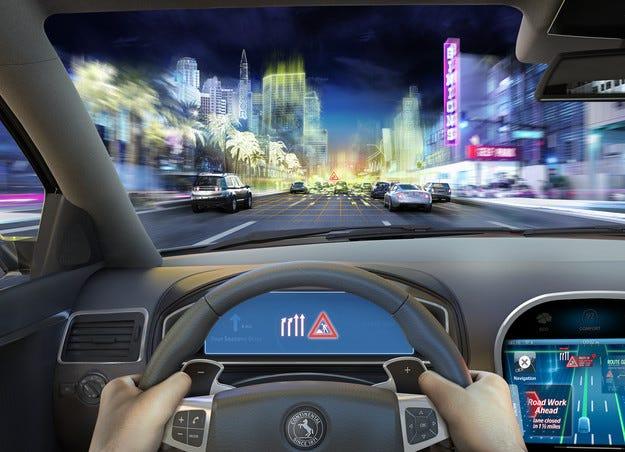 Технология от Continental вижда пътя пред автомобила