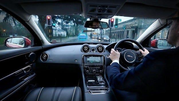 Jaguar Land Rover с прозрачни A колони на каросерията