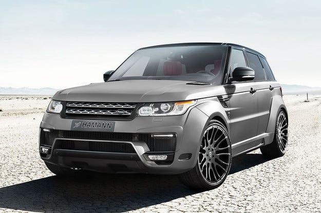 Hamann Range Rover Sport: Бодибилдинг за спортния SUV