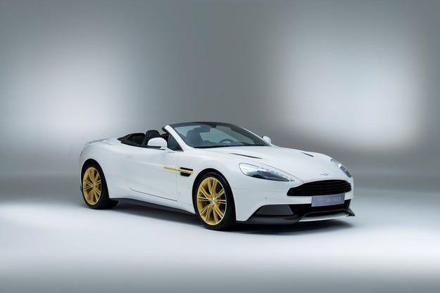 Aston Martin: Ексклузивен Vanquish за рожден ден
