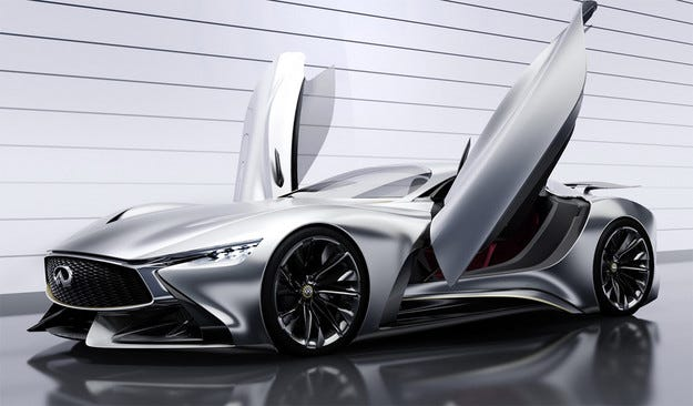 Японската компания Infiniti представи концепта Vision GT