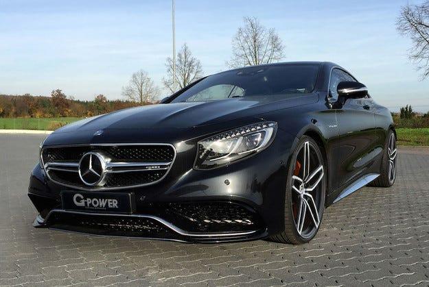 Mercedes S63 AMG получи двигател със 705 конски сили